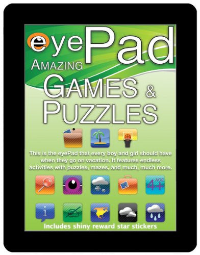 Eye Pad Amazing Games & Puzzles