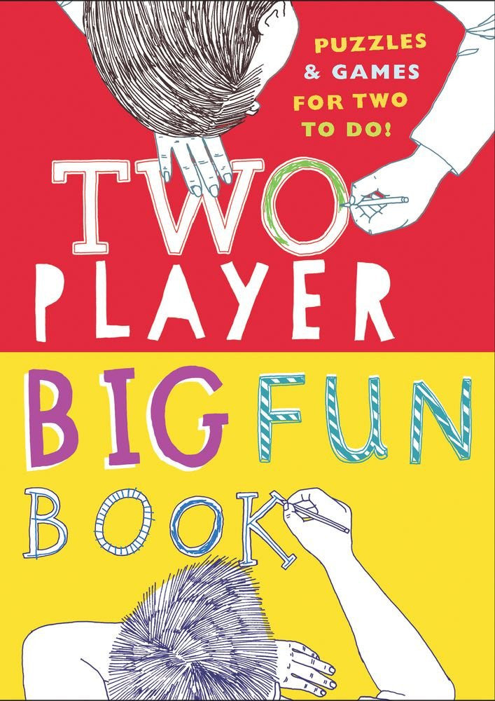 Two Player Big Fun Book Puzzles & Games for two to do!
