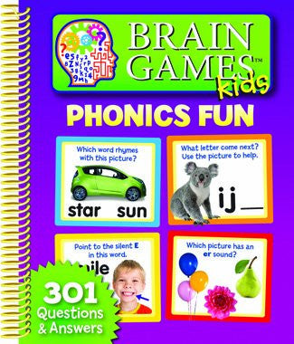 Brain Games Kids Phonics Fun