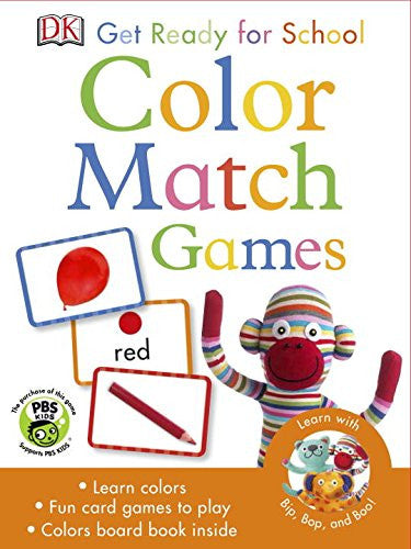 DK Get Ready for School Color Match Games