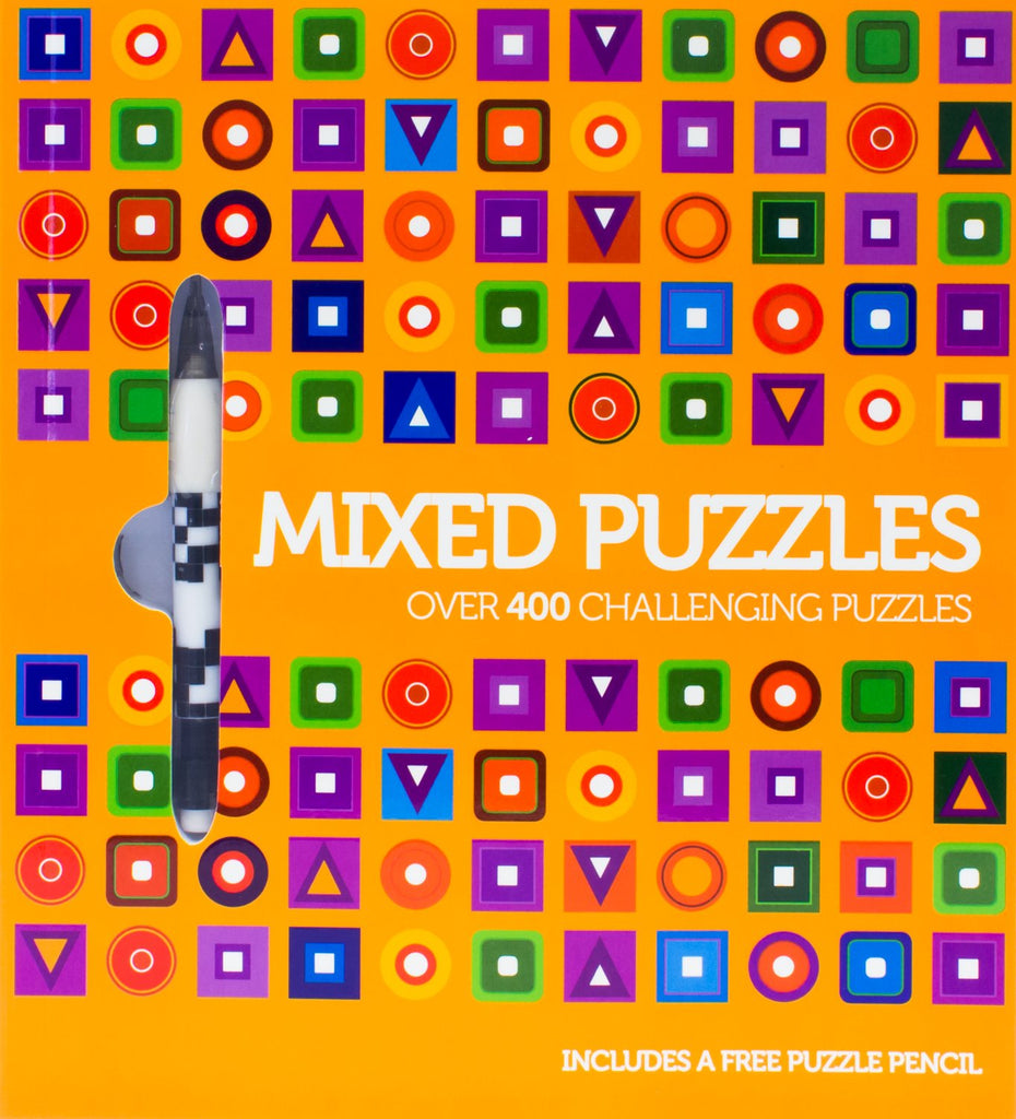 Mixed Puzzles Over 400 Challenging Puzzles