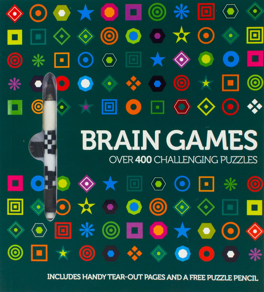 Brain Games Over 400 Challenging Puzzles