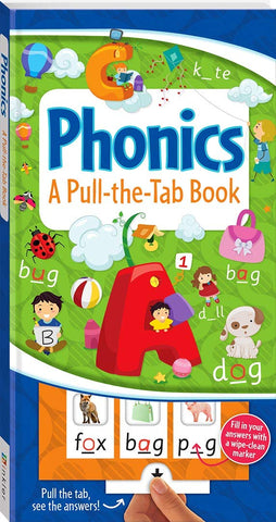 Pull The Tab Book Phonics