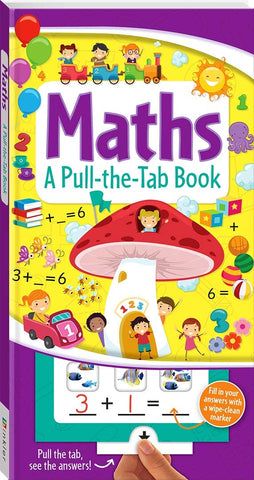 Pull The Tab Book : Maths