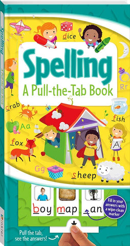 Pull The Tab Book Spelling