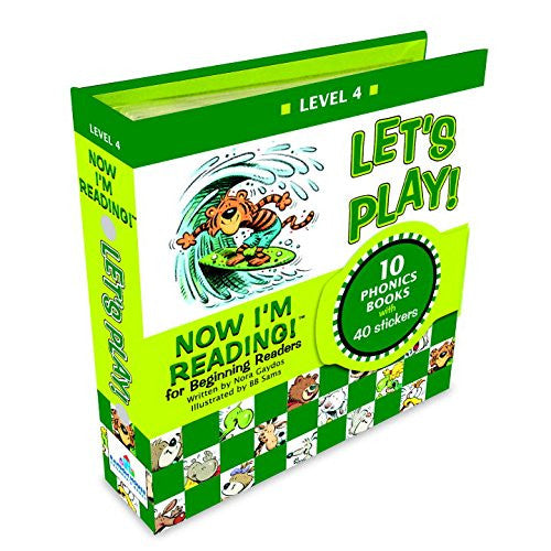 Now I Am Reading for Beginning Readers: Lets Play 10 Book Set Level 4