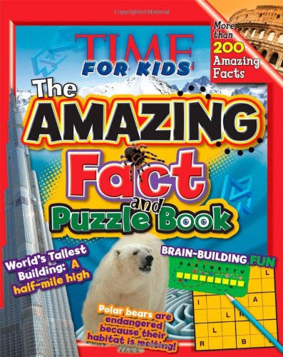 Time For Kids Amazing Fact And Puzzle Book