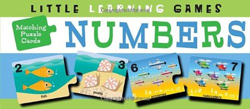 Little Learning Games Matching Puzzle Cards Numbers
