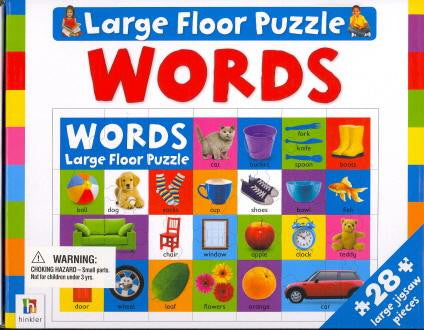 Large Floor Puzzle Words