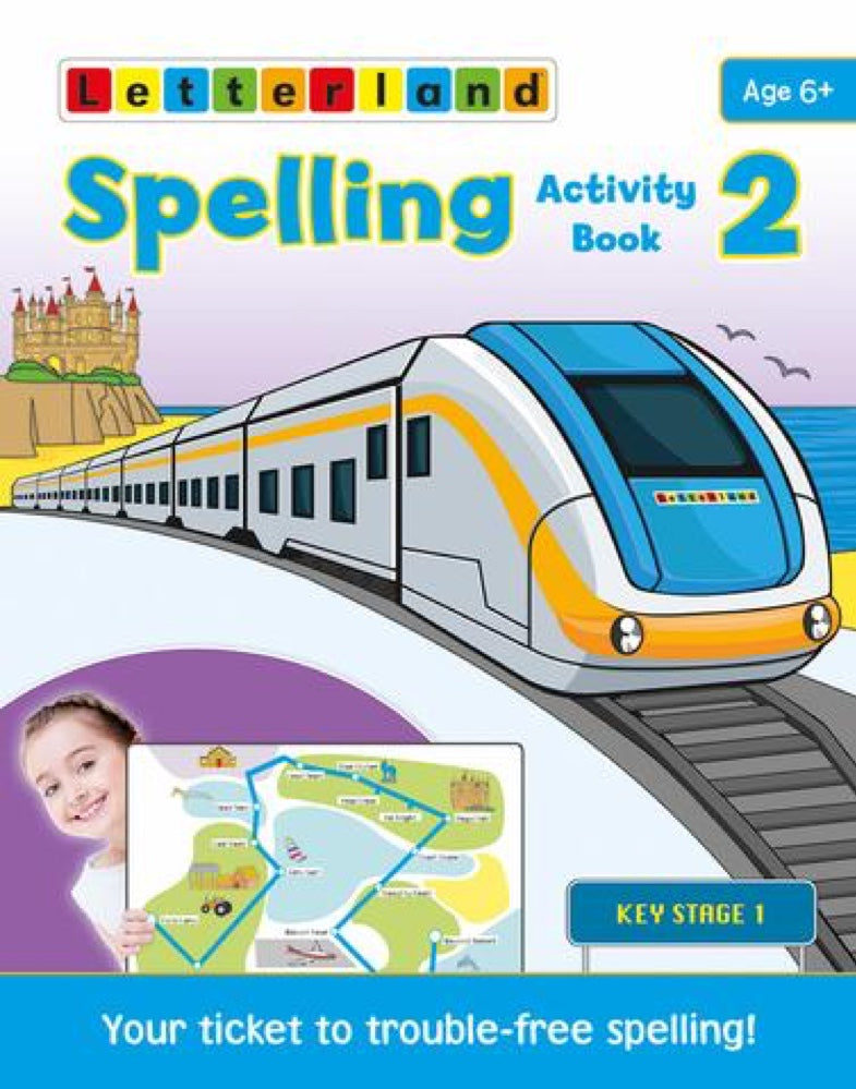 Letterland Spelling Activity Book 2