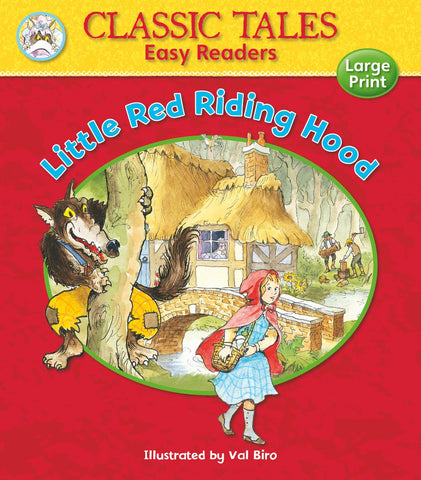 Classic Tales Easy Readers Little Red Ridding Hood