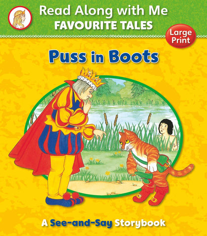 Read Along with Me Favourite Tales : Puss in Boots
