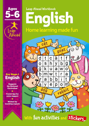 Leap Ahead Workbook English Ages 5-6