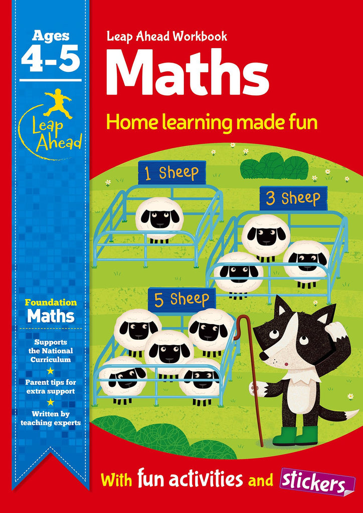 Leap Ahead Workbook Maths Ages 4-5