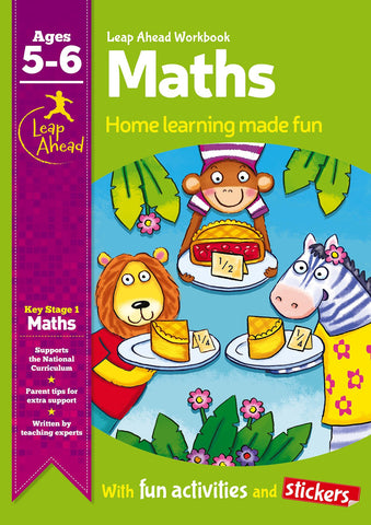 Leap Ahead Workbook Maths Ages 5-6