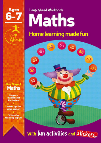 Leap Ahead Workbook Maths Ages 6-7