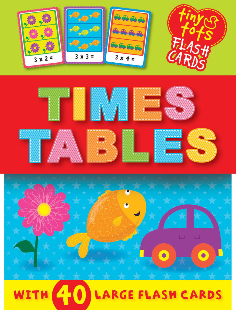 Tiny Tots Flash Cards Times Tables