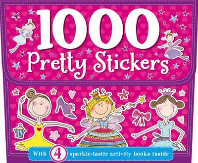 1000 Pretty Stickers (pack with 4 sparkle-tastic activity books)