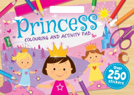Princesses Colouring and Activity Pad