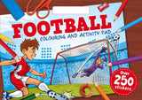 Football Colouring and Activity Pad