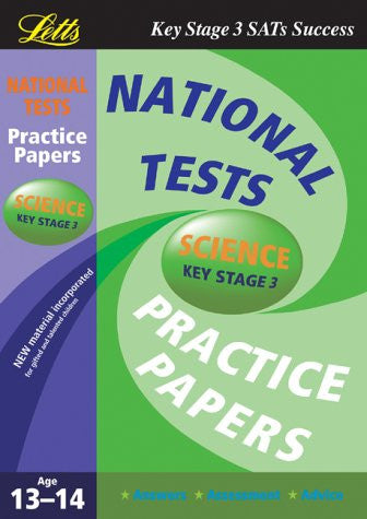 Letts National Tests Science Key Stage 3 Age 13-14