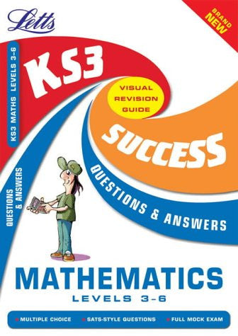 Letts Key Stage 3 Mathematics Questions And Answers Levels 3-6