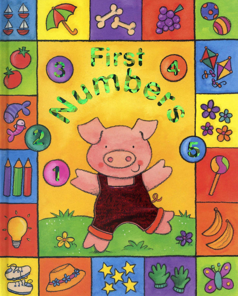Sparkle Board Books - First Numbers