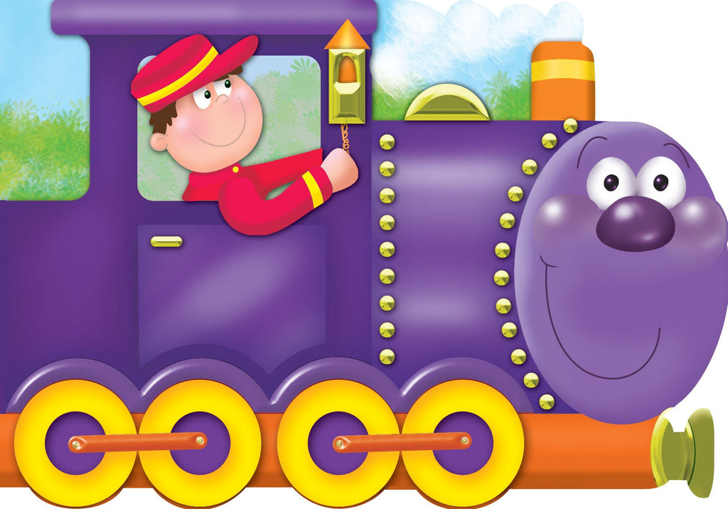My Chunky Friend Story Book Train