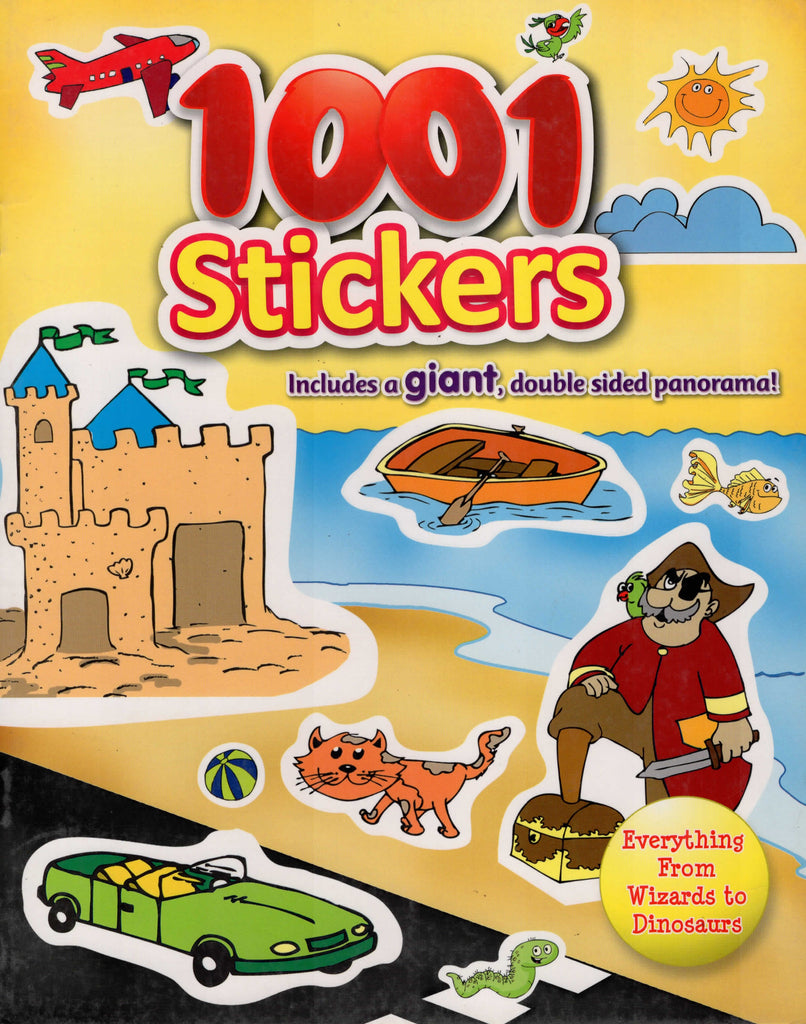 1001 Stickers Everything From Wizards To Dinosaurs