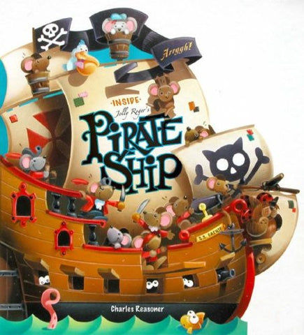 Inside Jolly Roger's Pirate Ship
