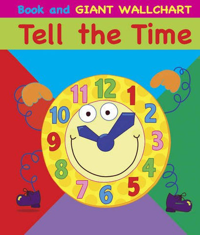Tell The Time Book And Giant Wallchart