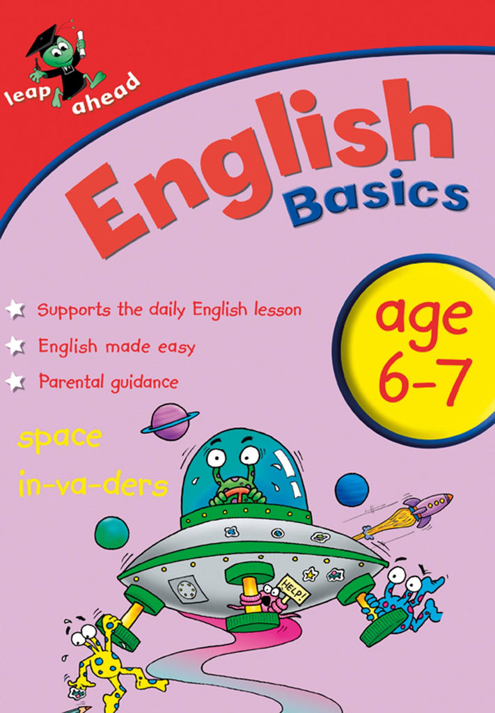 Leap Ahead Workbook English Basics Age 6-7