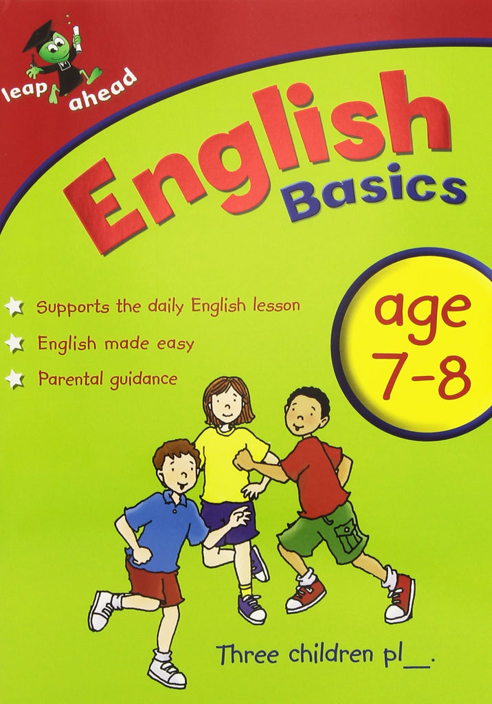 Leap Ahead Workbook English Basics Age 7-8