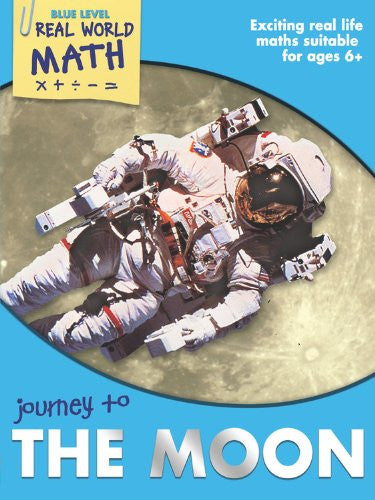 Real World Math Journey To The Moon (Blue Level)