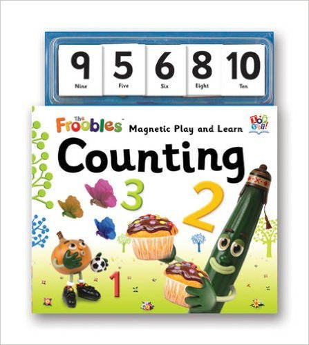 Froobles Magnetic Play and Learn Counting