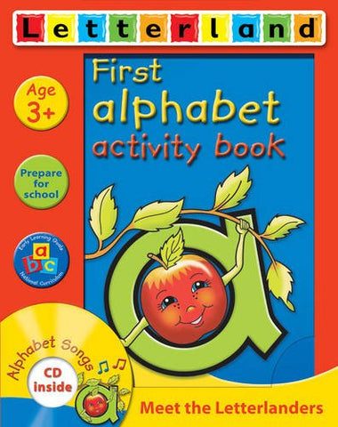 First Alphabet Activity Book with CD