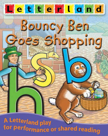 Letterland Play - Bouncy Ben Goes Shopping