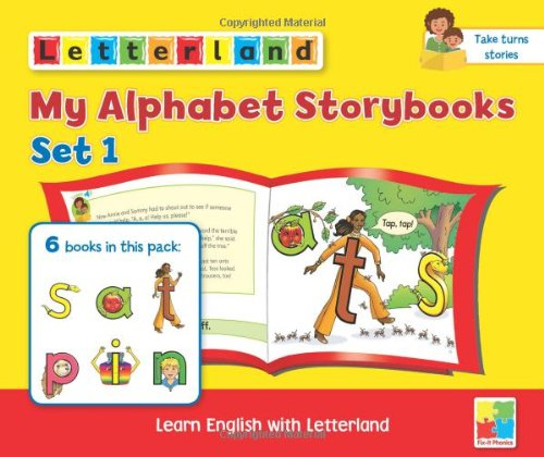 My Alphabet Storybooks Set 1 (Set of 6 Books)