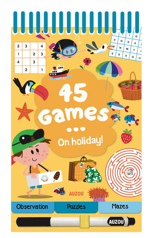 45 Games - On Holiday!