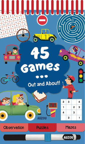 45 Games - Out and About!