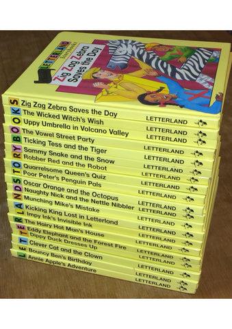 Letterland Classic Storybook Set (20 Volumes)