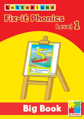 Fix-it Phonics - Level 1 - Big Book