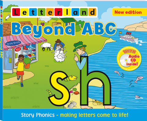 Letterland Beyond ABC (Paperback + Audiobook CD)