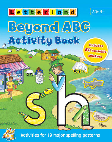 Beyond ABC Activity Book with stickers