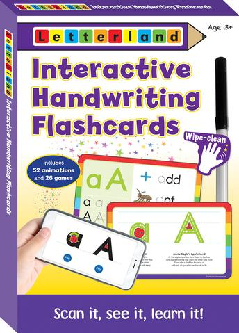 Interactive Handwriting Flashcards