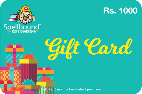 Spellbound Gift Card Rs 1000