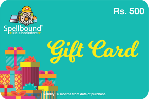 Spellbound Gift Card Rs 500