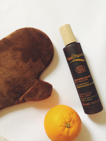tanorganic glove self tan lotion review