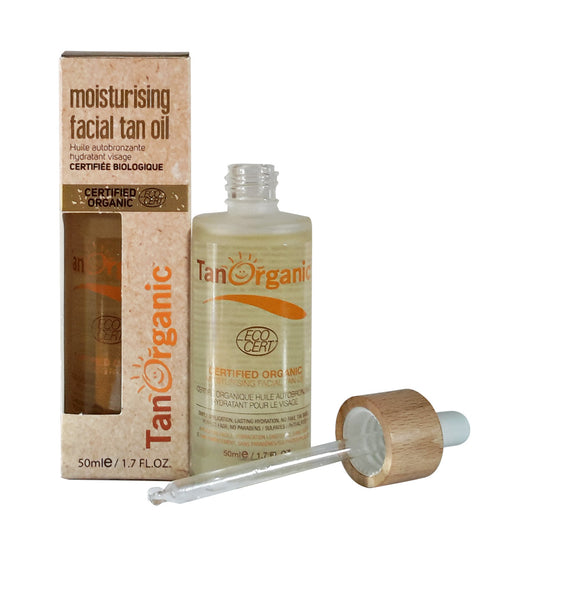 Moisturising Facial Tan Oil