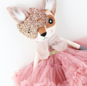 Rose Gold Fifi Fox